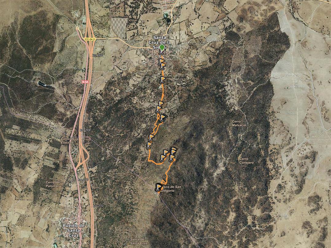 Ruta al Risco San Gregorio