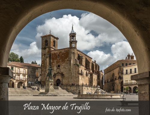 Las 10 casas de la Plaza Mayor de Trujillo